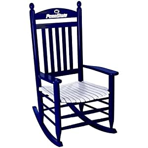 Penn State Nittany Lions Rocking Chair - Blue & White by Hinkle Chair ...