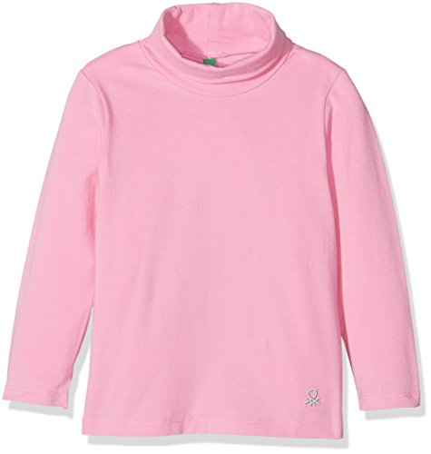 united-colors-of-benetton-3dr6c-col-polo-rose-pink-2b4-7-8-ans-taille-fabricant-m