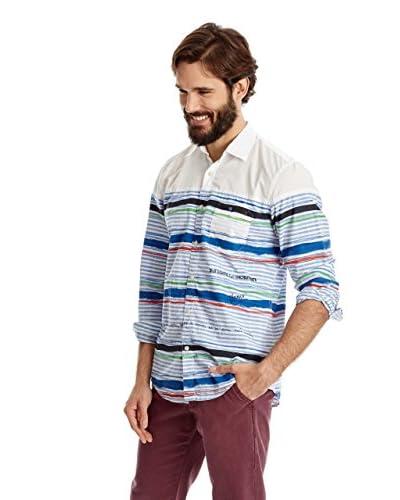 Desigual Camicia Uomo [Bianco]