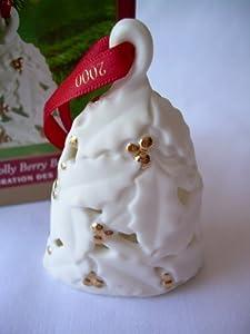 Holly Berry Bell 2000 Hallmark Ornament QX8291