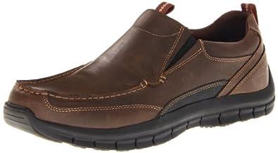 Skechers Men's Mazen Leone Slip-On,Brown,10 M US