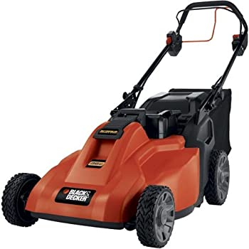 Our battery-powered outdoor products help you work smarter, faster and cleaner-without compromises. Featuring a highly efficient design, the Black & Decker SPCM1936 19-Inch, 36-volt cordless lawn mower delivers the power to cut up to 1/3 acre home si...