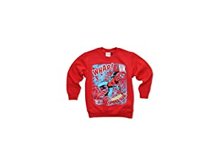 MARVEL Sudadera Square Faces (Rojo)