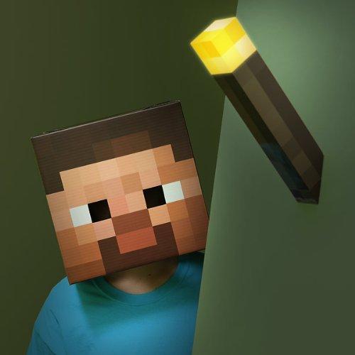 Minecraft Think Geek Wall Torch by Think Geek