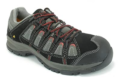 Caterpillar Linchpin steel toe S1P Safety work trainers shoes UK 6