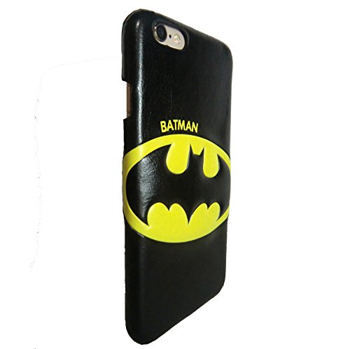 Casmart iPhone 6 6S Case - Ultra Thin Cell Phone Case Artificial Leather Protective Cover at Gotham City Store