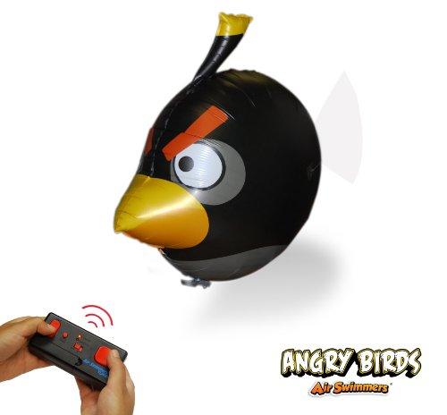 Imagen de Angry Birds aire nadadores Turbo - Control remoto juguete del globo - negro enojado aves volando