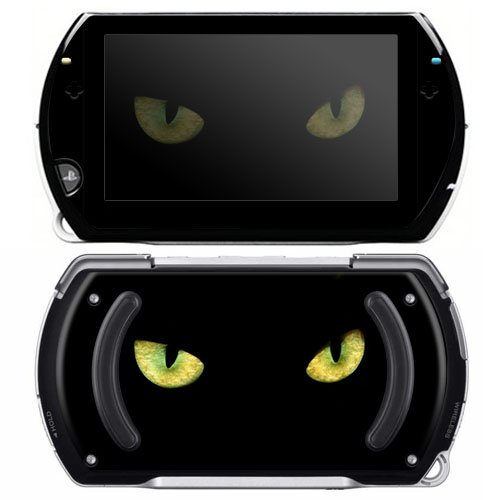 Cat Eyes Decorative Protector Skin Decal Sticker for Sony Playstation PSP Go System