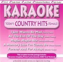 Karaoke: Today's Country Hits (Female)