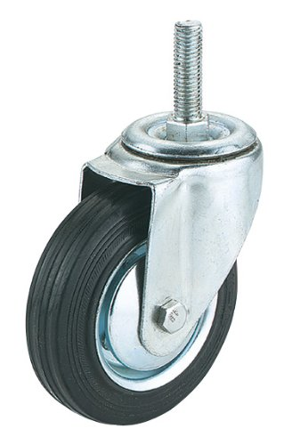 Steelex D2543 Threaded Swivel Industrial Hooded Caster 4-InchB0000DD1CG : image