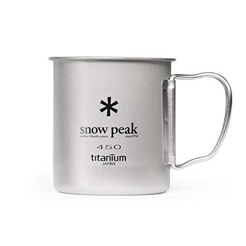 Snow Peak Titanium Single Wall Cup 450 (Titanium Single Wall Cup compare prices)