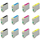 Multipack 3 Sets Epson Compatible Ink Cartridges T0551-T0554