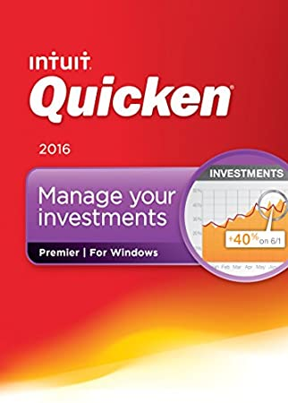 Quicken Premier 2016 Personal Finance & Budgeting Software