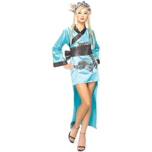 Blue Dragon Lady Adult Costume - Standard