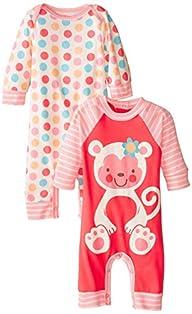 Gerber Baby-Girls Newborn Monkey 2 Pa…