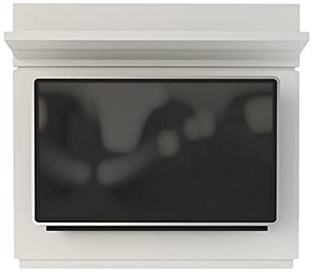 Manhattan Comfort Park 1.3 TV Panel in White Gloss