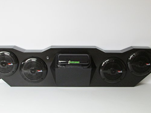 """SD KT4BBT4B-Kawasaki Teryx Stereo System Bluetooth (4-6.5"""" marine speakers)"""