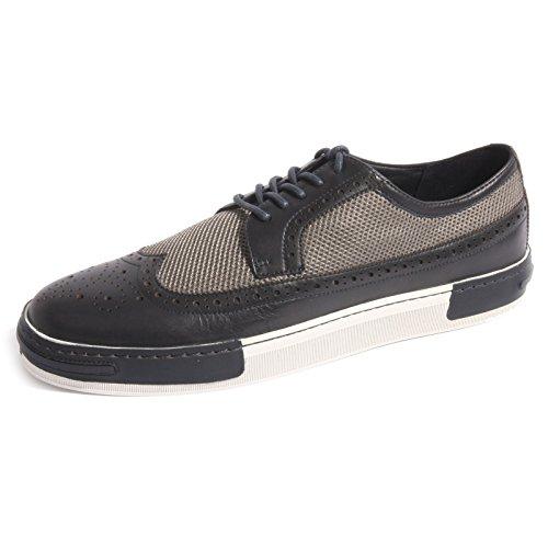 B0432 sneaker uomo scarpa blu ARMANI JEANS AJ shoes men [39]