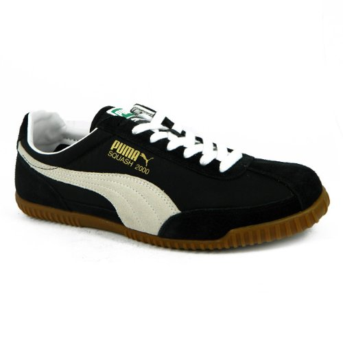 Puma Squash 2000 Mens Heritage Low Profile Suede Leather Trainers