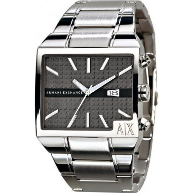 Armani Exchange AX2003 Mens ROME Grey Silver Watch