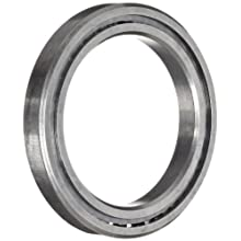 "RBC SAA10AG0 Thin Section Ball Bearing, 440C Stainless Steel, Unsealed, Angular A-Type, 1"" Bore x 1.375"" OD x 0.25"" Width"