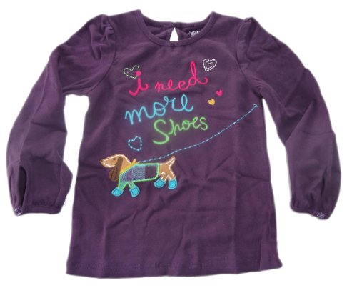 baby-gap-langarm-t-shirt-lila-i-need-more-shoes-bunt-bestickt-gr-104-110-us-5
