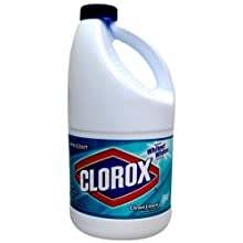 Clorox 02511 Liquid Bleach, Clean Linen Fragrance, 60 fl oz Bottle (Case of 8)