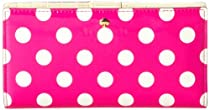 kate spade new york Stacy PWRU2984 Wallet,Vivid Snapdragon/Cream,One Size