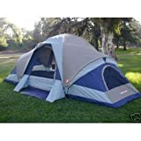 Suisse Sport Wyoming 3 Room Family Dome Tent 18 x 10