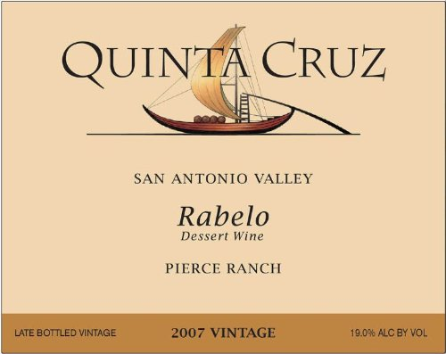 2007 Quinta Cruz Rabelo 375 Ml