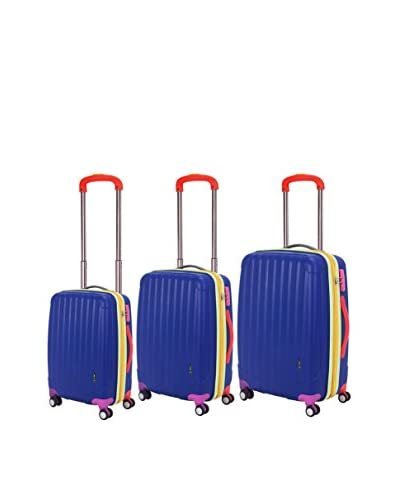 Travelers Club Getaway Collection 3-Piece Oversized Expandable Hardside Double-Spinner Luggage Set, ...