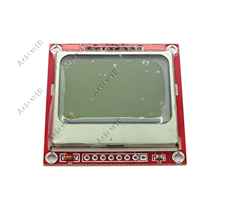 Asiawill® Nokia 5110 Lcd Module Pcd8544 Controller Display Board For Arduino
