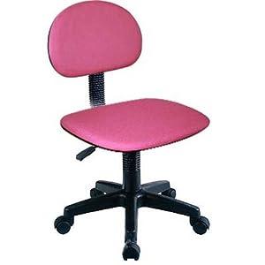 sedia cameretta poltrona ufficio studio colore rosa