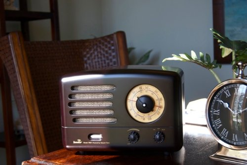 Tesslor R601 Classic Tube AM/FM Radio, Incredible Tube Amplified Sound, iPod Input, Vintage Radio