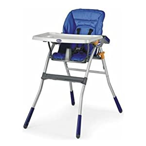 Chicco Jazzy Highchair (Light Blue)