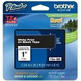 BROTHER BRT-TZE355 BROTHER WHITE ON BLACK - 1 - TZE355