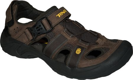 Teva Men'S Omnium Leather,Brown,Us 16 M front-1039261