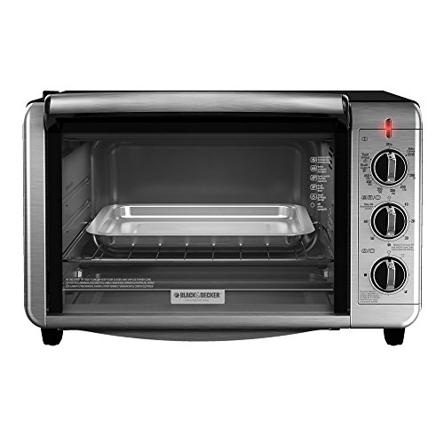 Black And Decker Countertop Convection Oven Parts : BLACK+DECKER TO3230SBD 6-Slice Convection Countertop Toaster Oven ...