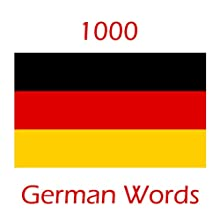 Learn 1000 German Words Audiobook by Barbara Stolt Narrated by Barbara Stolt
