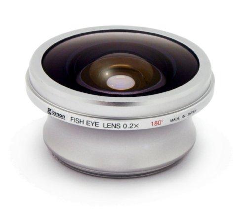 GIZMON OLYMPUS M ZUIKO DIGITAL17mm レンズ用 フィッシュアイレンズ 10535