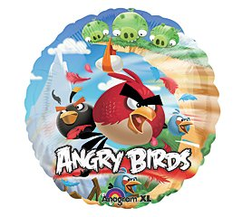 Mayflower 221747 Angry Birds Foil Balloon - 1