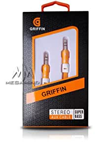 GRIIFIN STEREO AUX CABLE- EXTRA COPPER IN CABLE