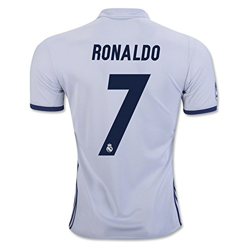 Real Madrid 2016 17 New Season 7 CRISTIANO RONALDO Home Soccer Jersey (Cristiano Ronaldo Number And Name compare prices)