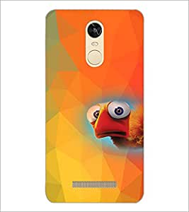 PrintDhaba Cartoon D-4541 Back Case Cover for XIAOMI REDMI NOTE 3 (MEDIA TEK) (Multi-Coloured)