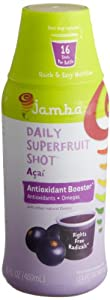 Jamba Juice Acai Antioxidant Booster Shot, 16-Ounce Bottles (Pack of 2)