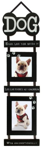 Malden Pet Dog Hanging Mobile Picture Frame with 2-Openings