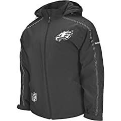 Reebok Philadelphia Eagles Sideline Static Storm Heavyweight Jacket by Reebok