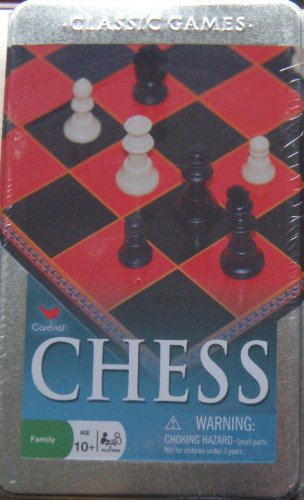 Classic Games CHESS in Silver Tin Can (2007)