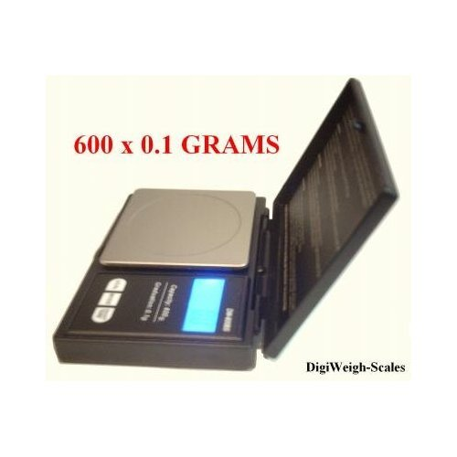 600 x 0.1 gram Digital Jewelry Scale to Weigh, Sell Scrap Gold