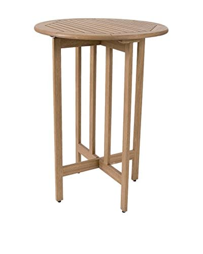 Amazonia Ibiza Eucalyptus Bar Table, Brown